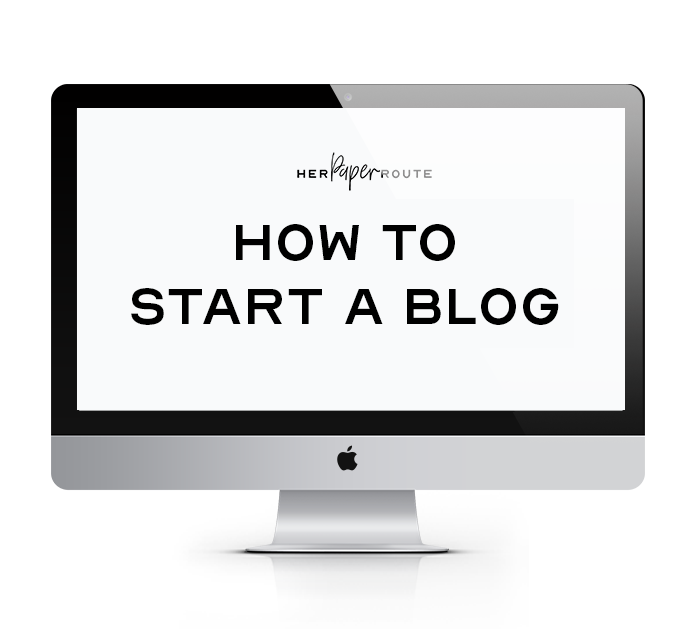 how to start a blog free course