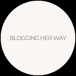 BLOGGING HER WAY